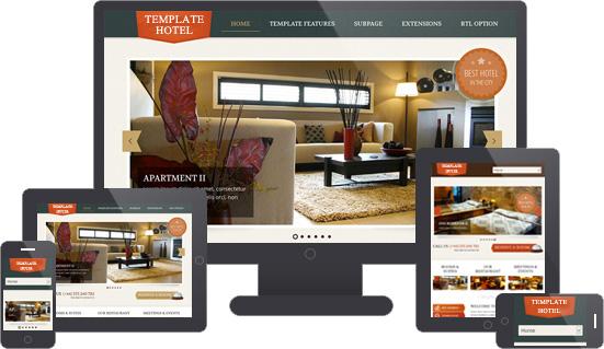 siti per hotel responsive